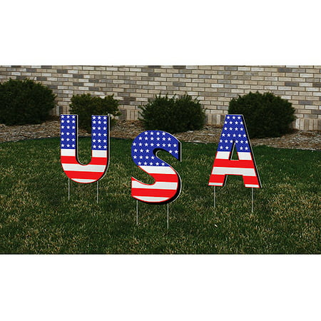 Usa Yard Sign](Diy Yard Signs)