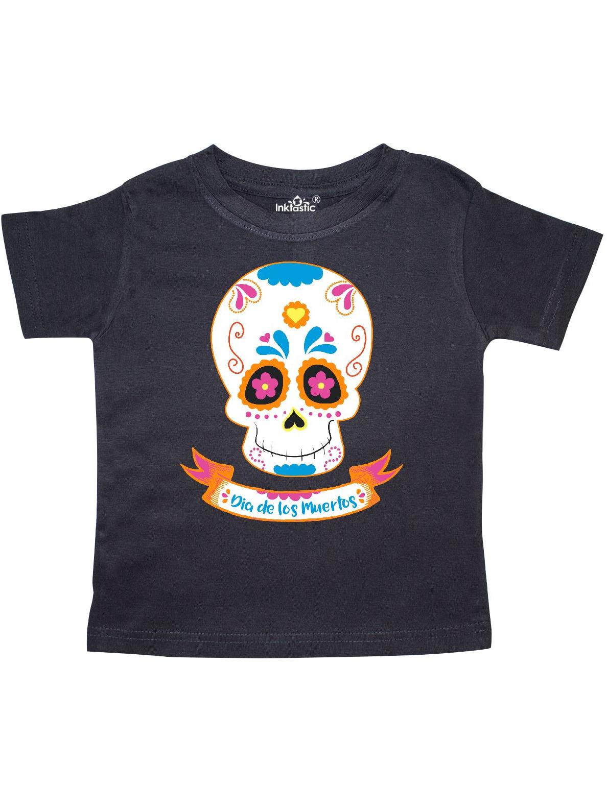 Basketball Logo Pirate Skull Cross Bones Kids Tee Shirt Boys Girls Unisex 2T-XL