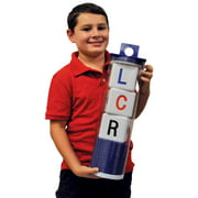 BIG LCR® Left Center Right™ Dice Game - Classic Tube (BLUE)