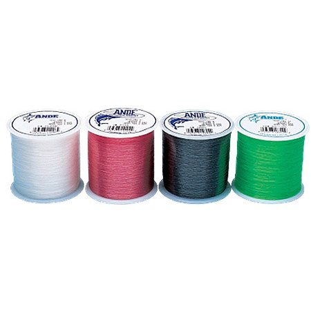 - Ande Premium Monofilament 1/2 lb Spool Fishing Line, Clear