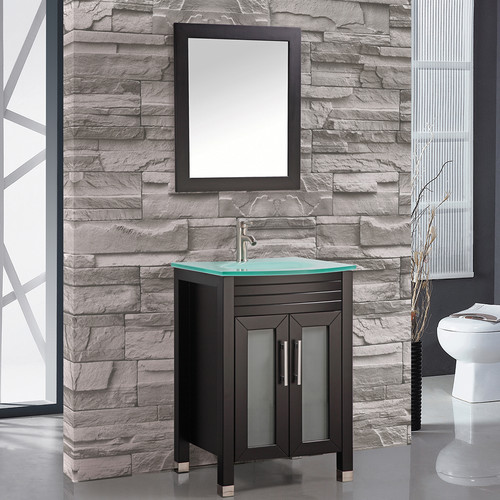 MTD Vanities Figi 24'' Single Sink Bathroom Vanity Set wi...
