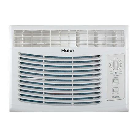 Haier 5100 Btu 115V Window Mounted Air Conditioner Ac W Manual Controls Hwf05xcp