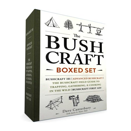 The Bushcraft Boxed Set : Bushcraft 101; Advanced Bushcraft; The Bushcraft Field Guide to Trapping, Gathering, & Cooking in the Wild; Bushcraft First Aid