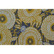 "The Rug Market Botanical Flora Grey/Yellow 2.8"" x 4.8"" Area Rug"