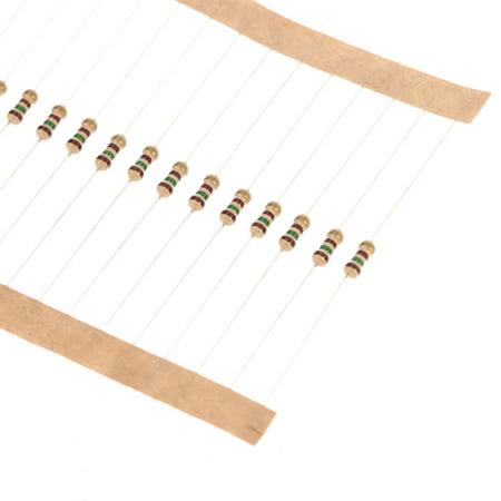 860pcs 1 ohm-1M ohm 1/4W Carbon Film Resistors Assortment Kit Set 43 Values Total Electronic Components - image 2 of 6