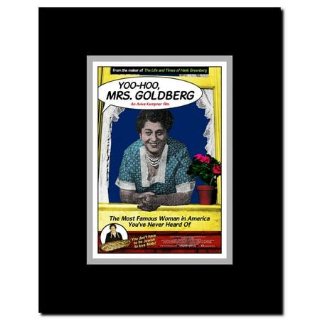 Clear Hobo (Yoo-Hoo Mrs. Goldberg Framed Movie Poster )
