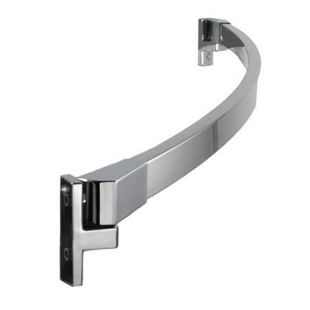 Preferred Bath Accessories 60 Curved Shower Curtain Rod