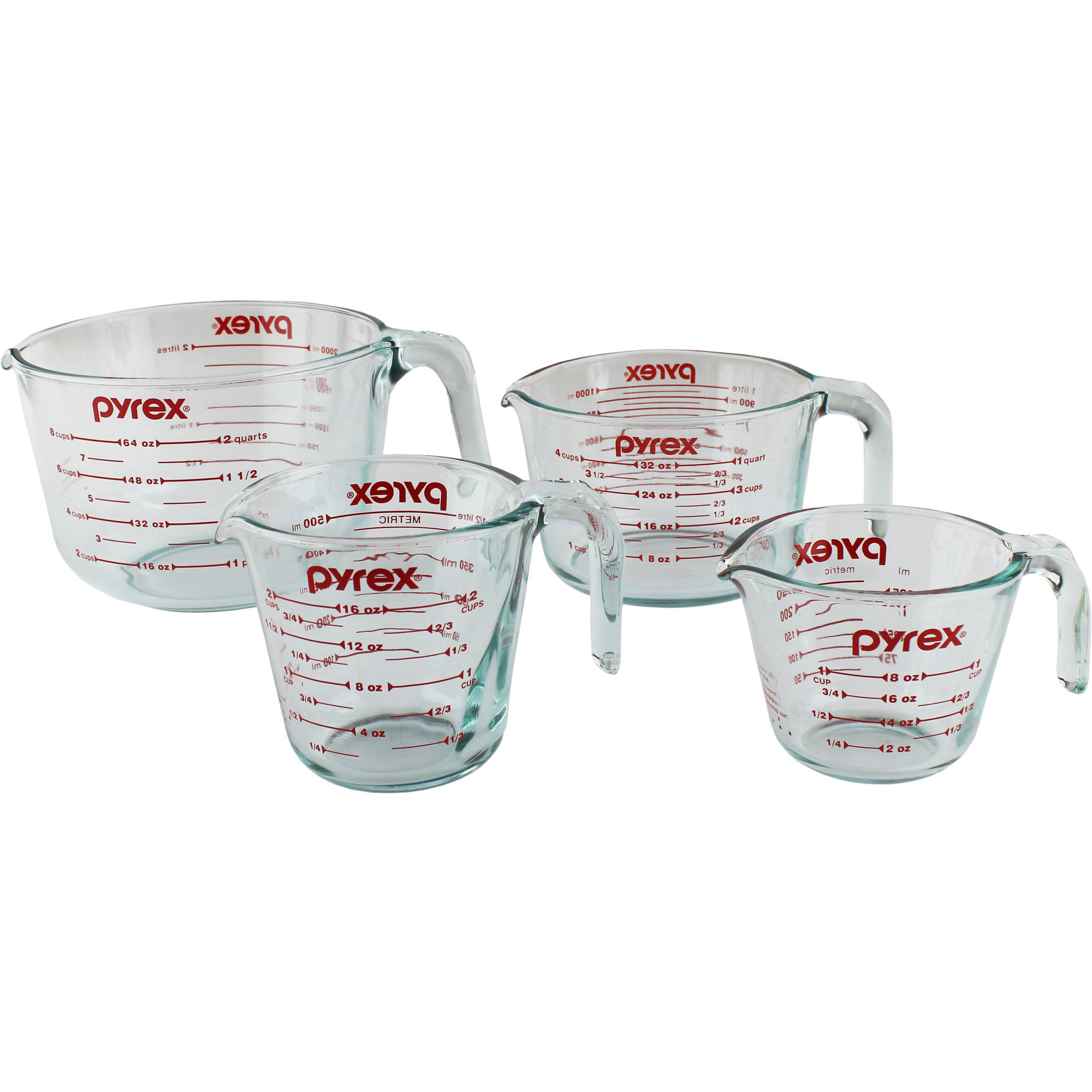 Pyrex 4-Piece Measuring-Cup Set