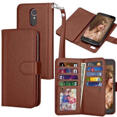 Lg Stylo 3 Stylus Case Plus Wallet Pu Leather Tekcoo Luxury Cash Credit Card Slots Holder Carrying Flip