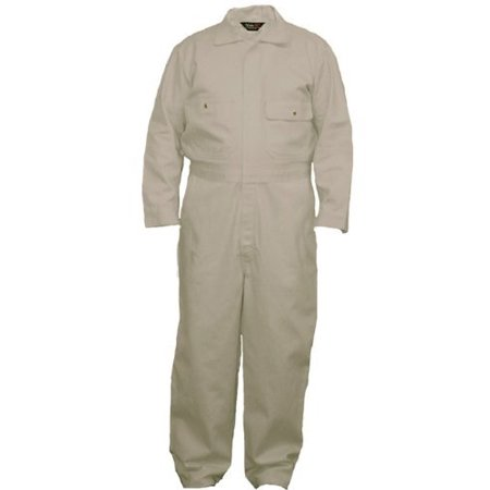 Walls Men's Flame Resistant Industrial Coverall 2-Big, Khaki, 58/Regular