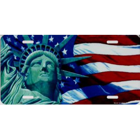Lady Liberty License Plate - image 1 of 1