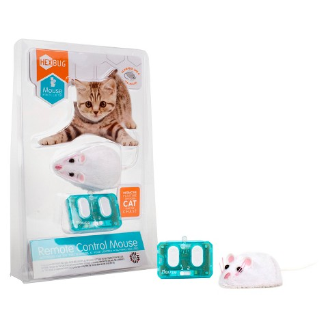 HEXBUG Remote Control Mouse Cat Toy