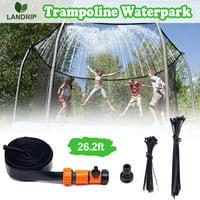 DecorX Trampoline Sprinklers for Kids, Outdoor Water Play Sprinklers, Trampoline Spray Waterpark Fun Summer Water Toys(26.2 Feet)