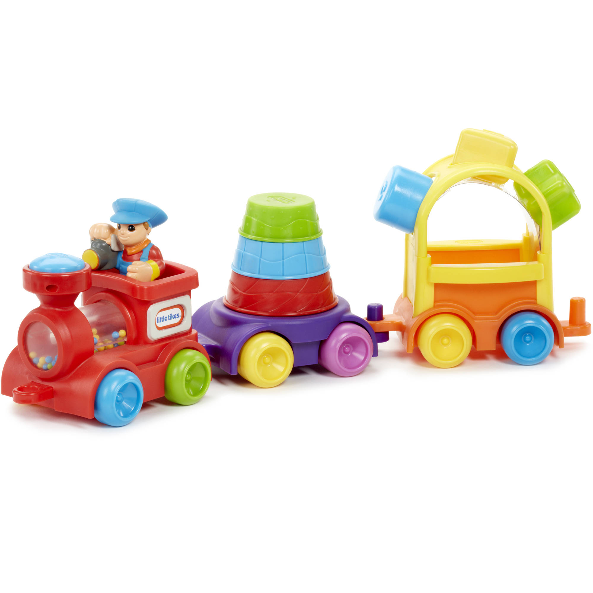 Little Tikes 3-in-1 Sort & Stack Train by Little Tikes