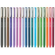 Uchida 18 Color Le Pen .3MM Micro Extra Fine Synthetic Point Smudge-Proof Ink