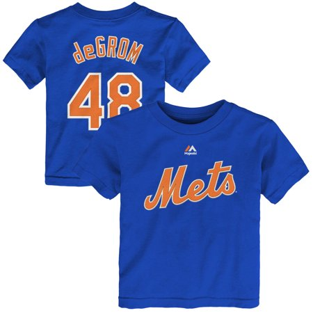 Jacob deGrom New York Mets Toddler Name & Number T-Shirt -