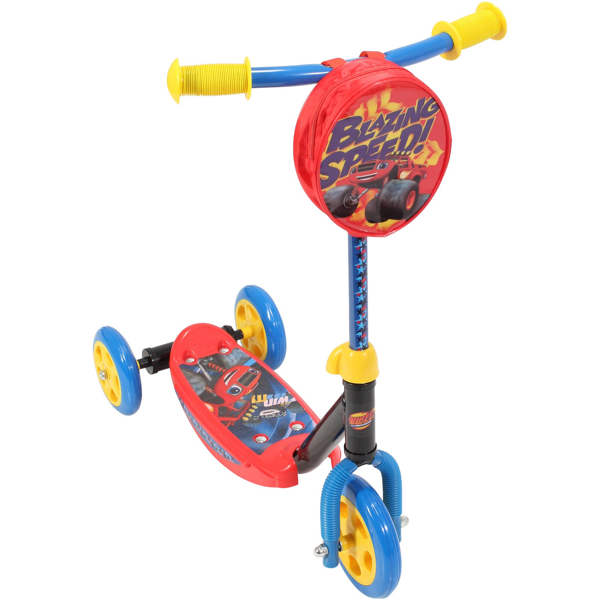 Playwheels Blaze and the Monster Machines 3-Wheel Scooter by Bravo Sports