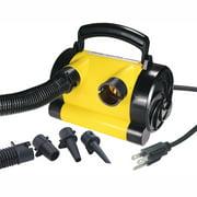 Airhead 120V Air Pump for Towables & Beach Toys Yellow/Black