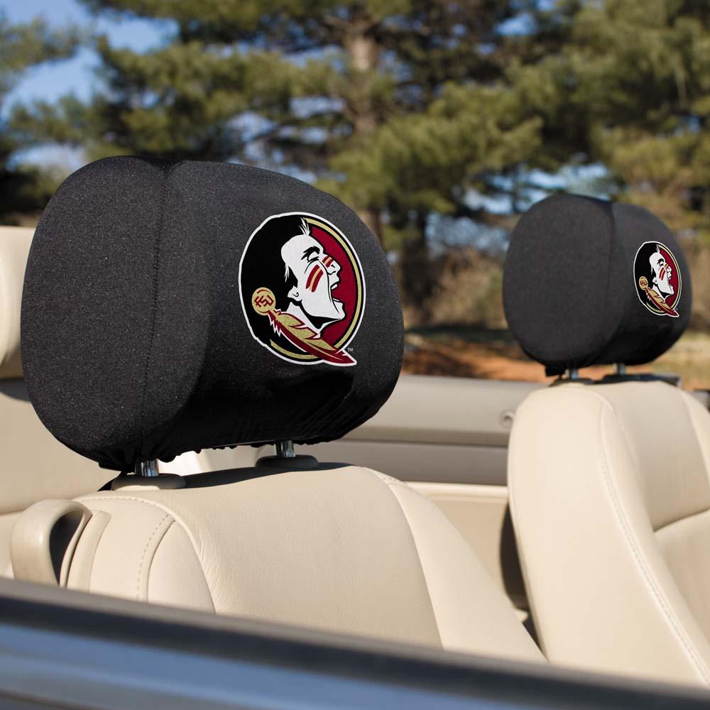 Bsi Products Inc Florida State Seminoles Headrest Covers Set Of 2 Headrest Covers