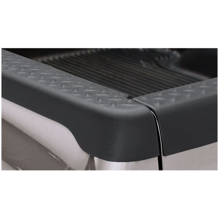 Dodge Truck Bed Rails (Bushwacker 97-04 Dodge Dakota Fleetside Bed Rail Caps 78.0in Bed - Black)