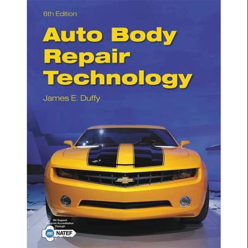 CENGAGE LEARNING 9781133702856 Book,Auto Body Repair Technology,6th G0122809