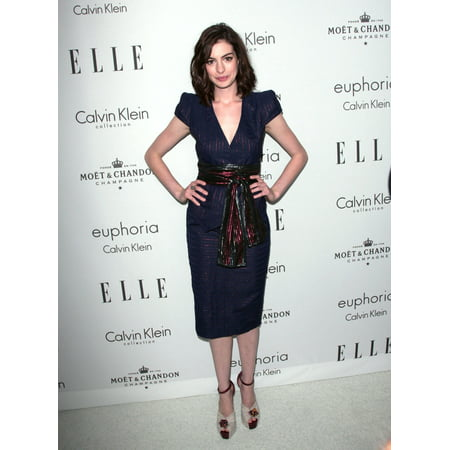 Anne Hathaway At Arrivals For ElleS 15Th Annual Women In Hollywood Event The Four Seasons Beverly Hills Los Angeles Ca October 06 2008 Photo By Adam OrchonEverett Collection - Hollywood Themed Events
