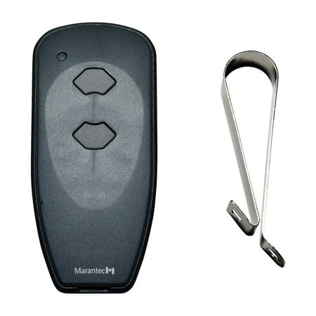 - Marantec M3-2312 (315 MHz) 2-button Garage Door Opener Remote