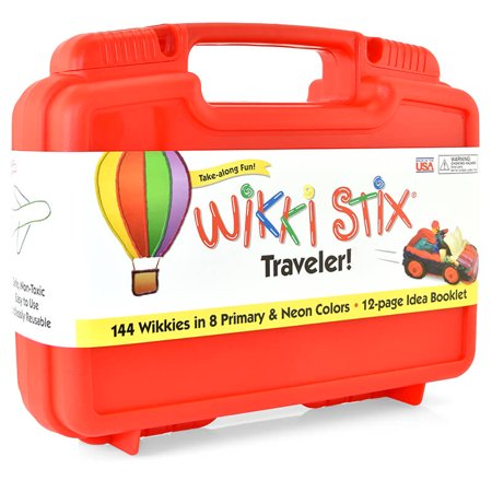 Art Craft Ideas (Wikki Stix Traveler: 144 Wikkies in 8 Primary & Neon Colors, 12 Page Idea)