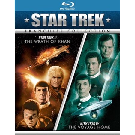 Star Trek II: The Wrath Of Khan / Star Trek IV: The Voyage Home (Blu-ray) ()