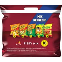 Frito-Lay Fiery Mix Variety Pack, 18 Count