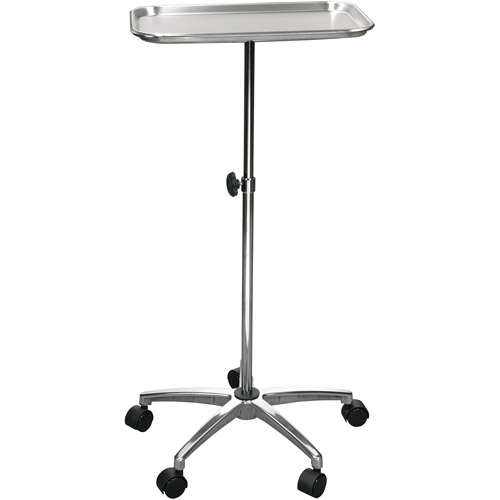 "Drive Medical Mayo Instrument Stand with Mobile 5"" Caster Base by Drive Medical Mayo Instrument Stand"