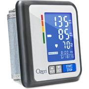 Ozeri CardioTech Travel Series BP6T Blood Pressure Monitor, Rechargeable with Hypertension Indicator