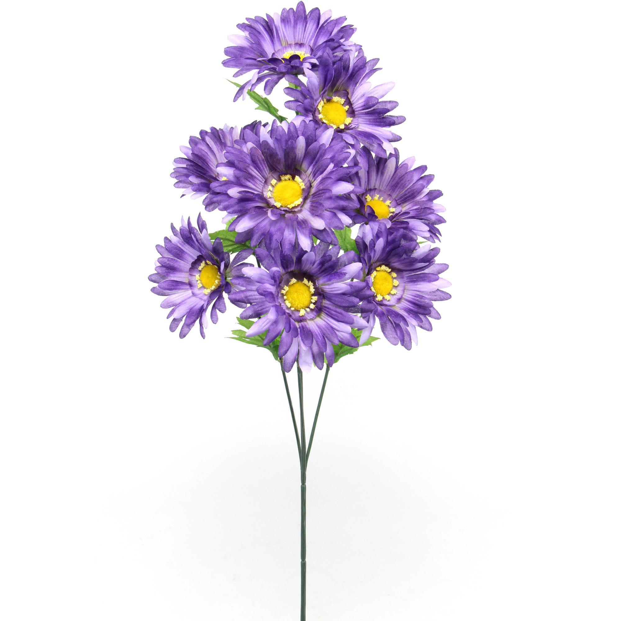 """Blossoms 12"""" Gerbera Spray, 6pk"""