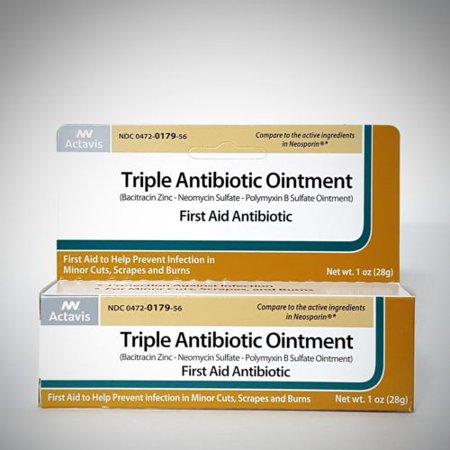 Triple Antibiotic Ointment (Compare to Neosporin) by Actavis