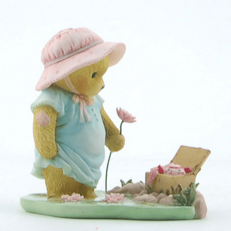 Cherished Teddies  Bear with Pinic Basket  2013 (Cherished Teddies Girl)