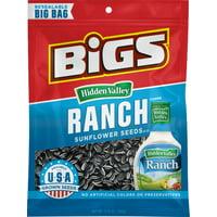 Bigs Hidden Valley Ranch Sunflower Seeds Big Bag 5.35 Oz.