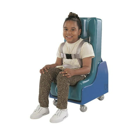 Mobile Floor Sitter with Wood Base - Medium - 2 Piece