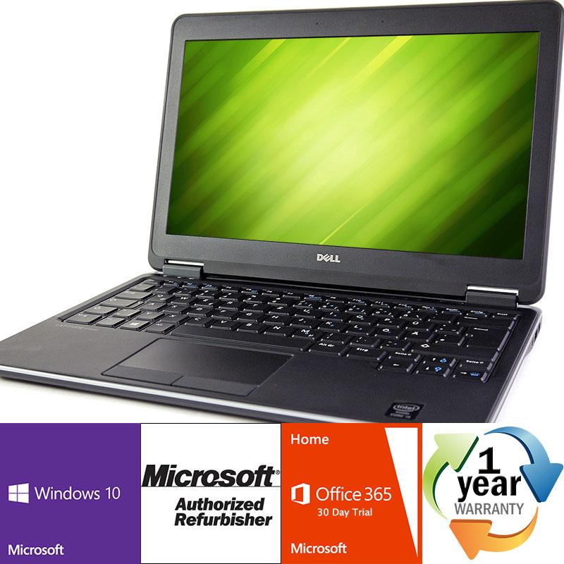 Refurbished Dell Latitude E7240 2.1GHz i7 8GB 256SSD Windows 10 Pro 64 Laptop B Camera by Dell
