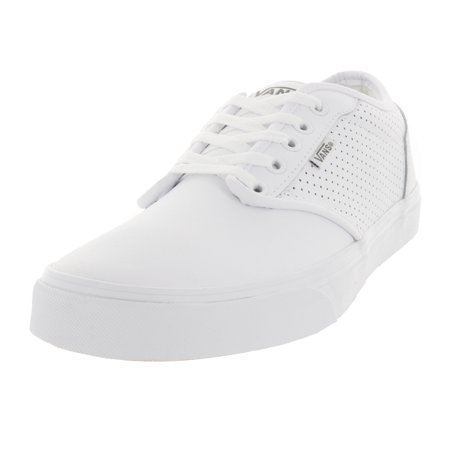 ed66438adaea Vans - Vans Men s Atwood (Perf Leather) Skate Shoe - Walmart.com