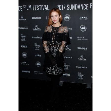 Brittany Snow At Arrivals For Bushwick Premiere At Sundance Film Festival 2017 The Library Theater Park City Ut January 21 2017 Photo By James AtoaEverett Collection Celebrity