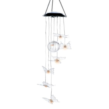 Outdoor Wind Chimes  Best Metal Solar Wind Chimes For Home Decor