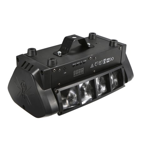 60w Rgbw 7 13 Channels Led Stage Light Lighting Fixture Suported Dmx512 Sound Activated Auto Running Master Slave Mini Spider Lamp For Dj Show