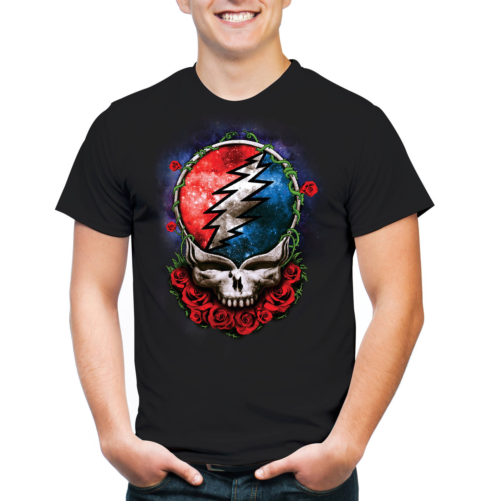 Grateful Dead Logo Men's Short Sleeve T-shirt