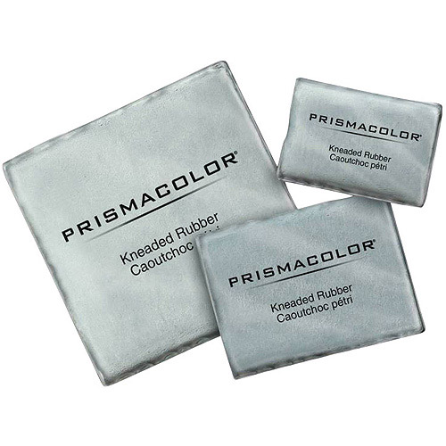 """Prismacolor Kneaded Erasers, 1.25"""" x 0.75"""", 24-Pack"""