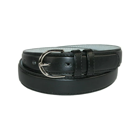 Women's Leather 1 1/8 Inch Dress - Smooth Leather Dress Belt