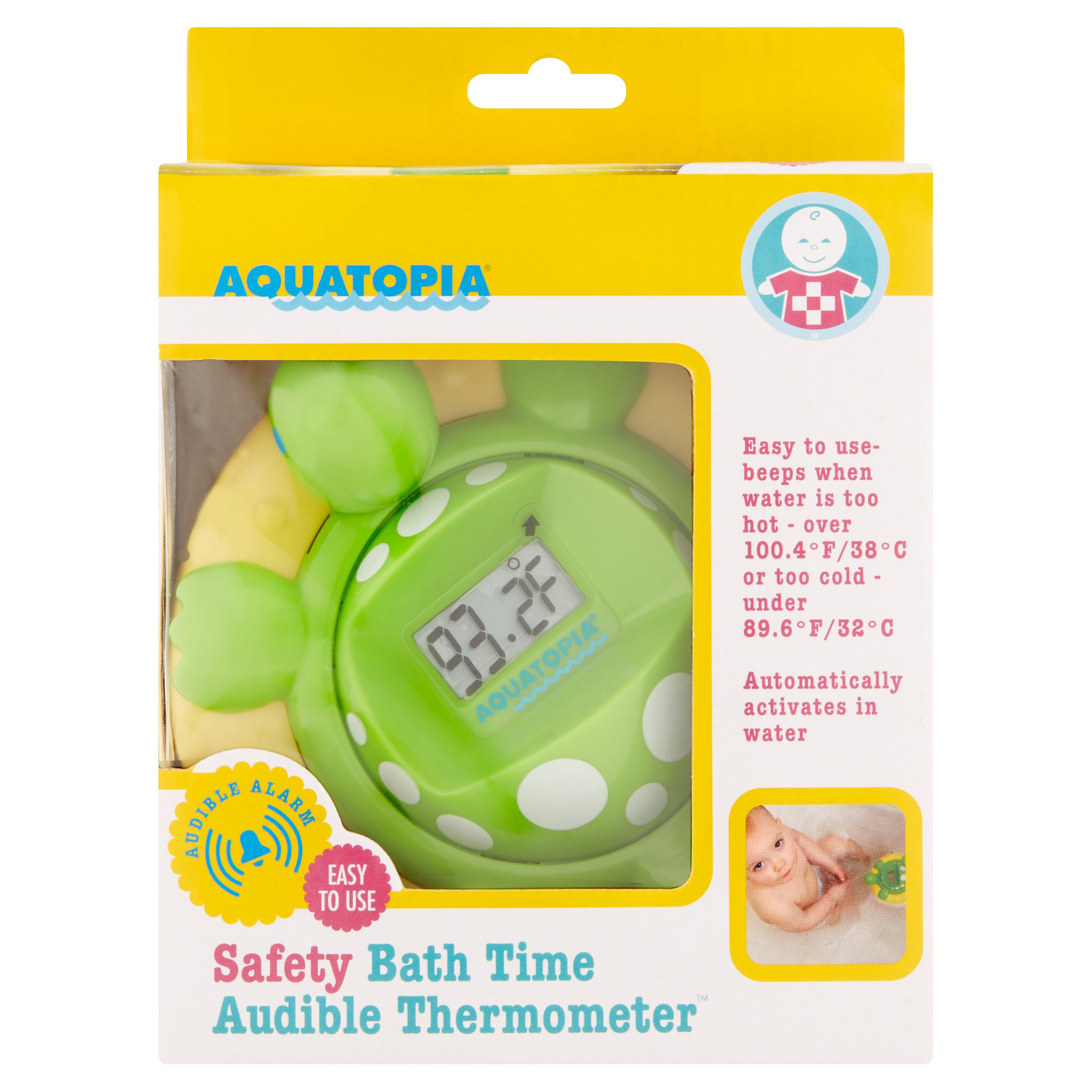 Aquatopia Safety Bath Time Audible Thermometer and Alarm - Walmart.com