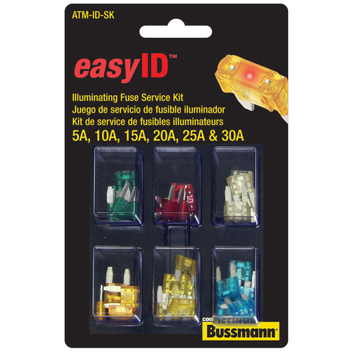 ATM EasyID Fuse Service Kit, 36pc