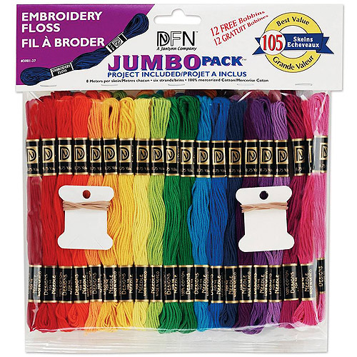 Janlynn Cotton Embroidery Floss Jumbo Value Pack