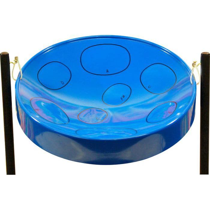 Jumbie Jam Steel Drum Musical Instrument, Blue by Panyard