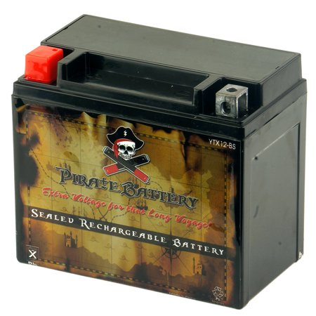 YTX12-BS Motorcycle Battery for Suzuki 800cc VZ800 Marauder 2001](Marauder Pirate)